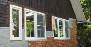 отделка деревянного дома термопанелями